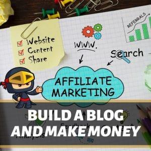 How To Build A Blog & Make Money…