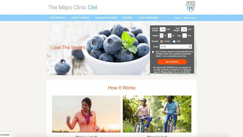 Mayo Clinic Diet Affiliate Program